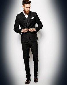 skinny suit